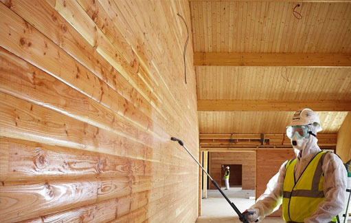 Fire Protection Coating for Wood